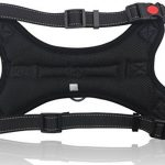 MIDWEC Harnais ajustable pour chien de première qualité Nouveau design anti traction, Intérieur tissu doux, pour animaux domestiques, petit chien, chien moyen, grand chien, existe en 4 tailles de la m TOP 6 image 5 produit