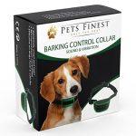 Collier Anti-Aboiement Pets Finest pour Chiens – Collier de Dressage pour Chiens avec Son & Vibration de la marque Pets Finest TOP 7 image 0 produit