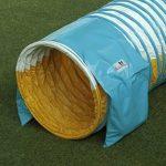 """Double-emballage sac de léstage """"basic de Callieway® pour tunnel agility Ø 60cm blanc de la marque Callieway® TOP 6 image 4 produit"""