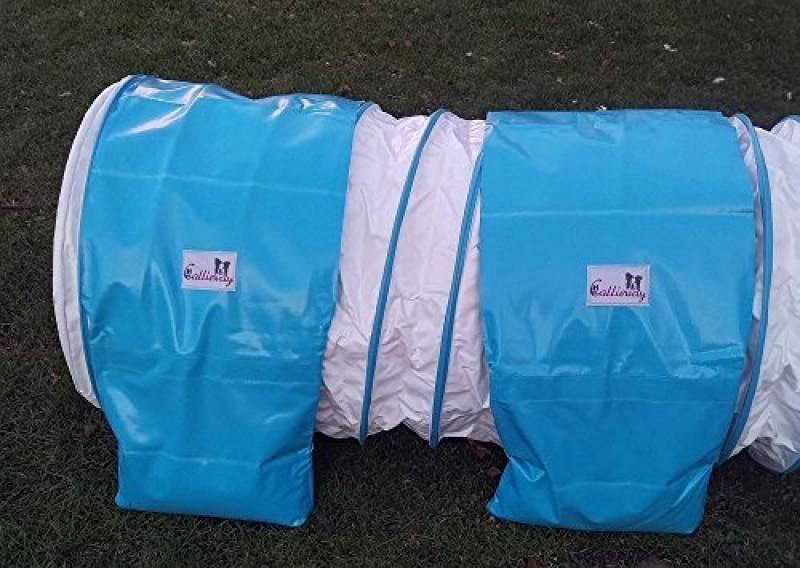 """Double-emballage sac de léstage """"basic de Callieway® pour tunnel agility Ø 60cm blanc de la marque Callieway® TOP 8 image 0 produit"""
