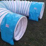 """Double-emballage sac de léstage """"basic de Callieway® pour tunnel agility Ø 60cm blanc de la marque Callieway® TOP 8 image 1 produit"""
