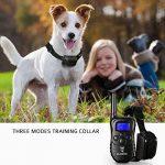 [NOUVELLE VERSION] Gleading collier de dressage pour un Chien,Collier pour chien----Contrôle manuel portée 300 mètres de la marque GLEADING TOP 6 image 6 produit
