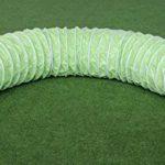 """Tunnel agility """"Professionnel"""" en couleur vert-lémon, selon les normes FCI, 3 m, Ø 60cm - 2 sacs de lestages déjà inclus de la marque Callieway® TOP 6 image 0 produit"""