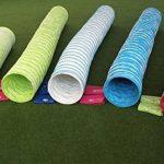 """Tunnel agility """"Professionnel"""" en couleur vert-lémon, selon les normes FCI, 3 m, Ø 60cm - 2 sacs de lestages déjà inclus de la marque Callieway® TOP 6 image 4 produit"""