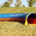 """Tunnel agility """"Tournoi""""selon les normes FCI Ø 60cm - 2 sacs de lestages déjà inclus de la marque Callieway® TOP 3 image 0 produit"""