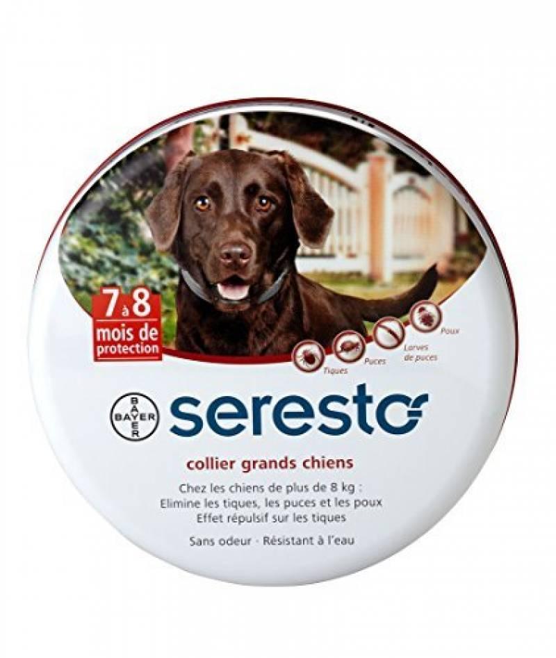 Bayer Seresto Collier antiparasitaire pour grands chiens plus de 8 kg de la marque Bayer TOP 6 image 0 produit