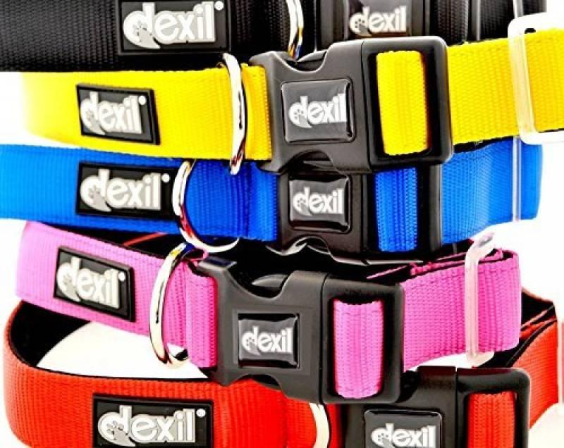 Dexil Elite Gamme Luxe Colliers pour chiens en néoprène rembourré réglable ultra résistant S/M/L/XL/XXL de la marque Dexil TOP 3 image 0 produit