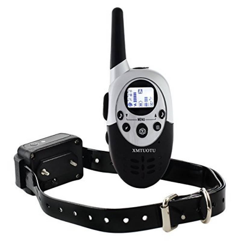 Collier de dressage de chien électrique rechargeable hautement étanche télécommandé sans fil à portée de 400 mètres avec LCD écran de la marque Ltuotu TOP 15 image 0 produit