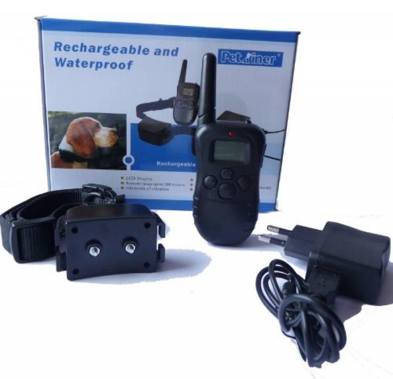 Collier de dressage RECHARGEABLE et WATERPROOF - Ecran LCD - intensités réglables de la marque Glück-express TOP 4 image 0 produit