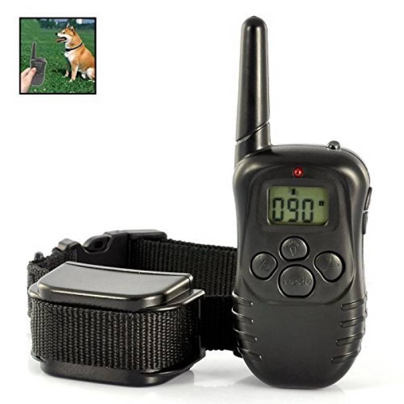 Collier dressage électronique chien jusqu'à 300 mètres réglable noir de la marque YONIS TOP 6 image 0 produit