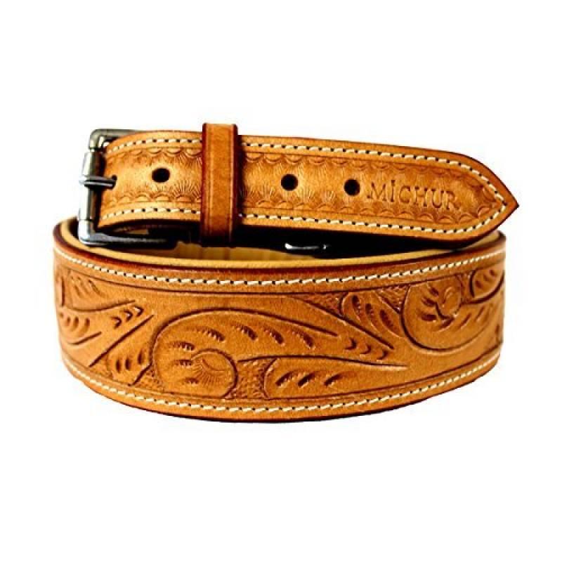 collier pour chien en cuir fait main