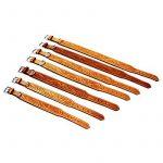 Felipe - Collier pour chien en cuir - Couleur : beige de la marque Michur TOP 8 image 5 produit