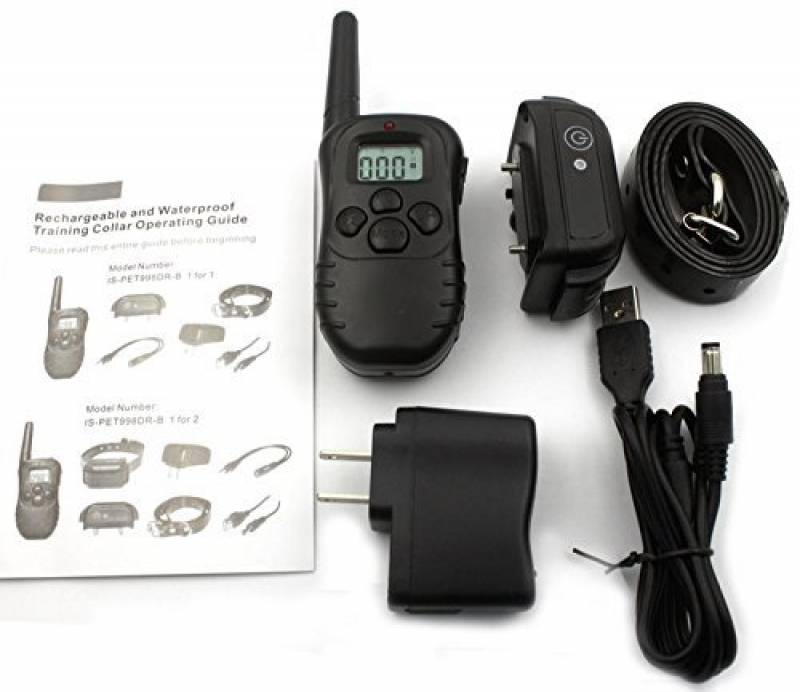 Namsan Formation rechargeable Dog Shock & Vibration Collier anti aboiement avec télécommande LCD 100% étanche pour 1 Chien de la marque Namsan TOP 9 image 0 produit