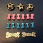 personnalisé Chien Harnais diamant / strass / bling / charms / Différentes Couleurs Disponibles - Bleu de la marque Surrey Feed TOP 3 image 2 produit