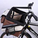 olayer Panier pour vélo pour guidon pour petits animaux avec poches Friandises pour chien de la marque Olayer TOP 2 image 4 produit