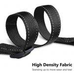 Laisse Double Accouple, PETBABA 30-50cm Longue Réfléchissante Réglable Nylon Laisse de Dressage pour 2 Chiens Noir de la marque PETBABA TOP 4 image 1 produit